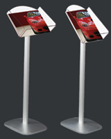 Буклетницы напольные Eclips Decorative Brochure Stand А4  (односторонние)